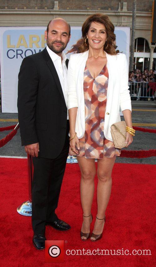 Ian Gomez and Nia Vardalos 'Larry Crowne' Los...