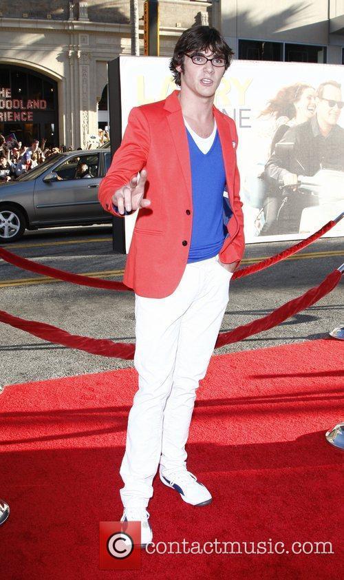 RJ Mitte  'Larry Crowne' Los Anglees Premiere...