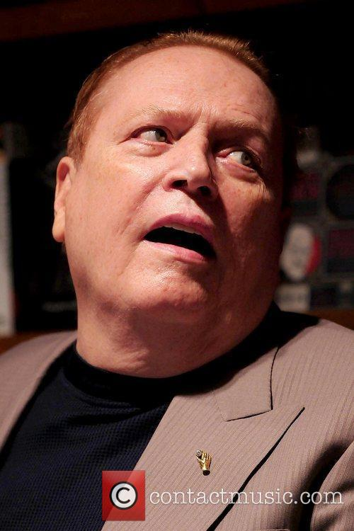 Larry Flynt signs copies of his book 'One...