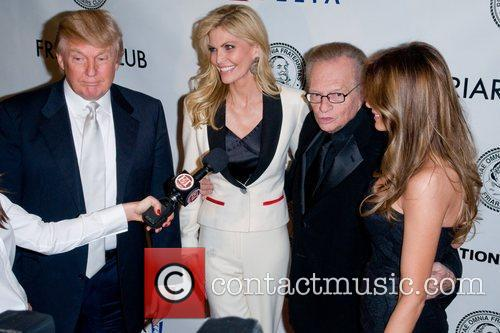 Donald Trump, Larry King and Shawn King 3
