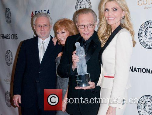 Kathy Griffin, Larry King and Shawn King 10