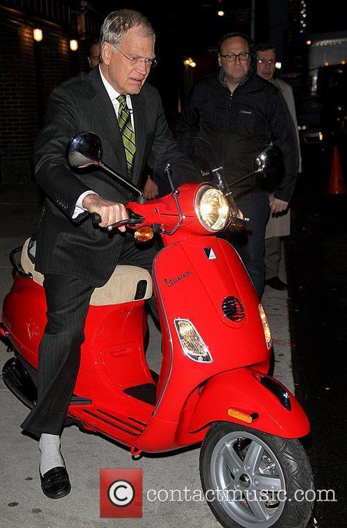 Regis Philbin and David Letterman 15