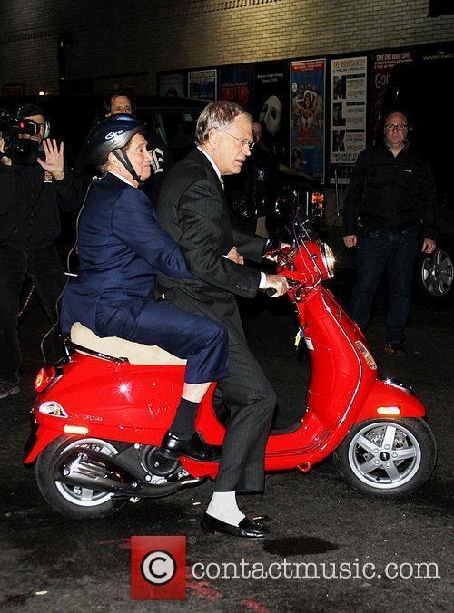 Regis Philbin and David Letterman 14