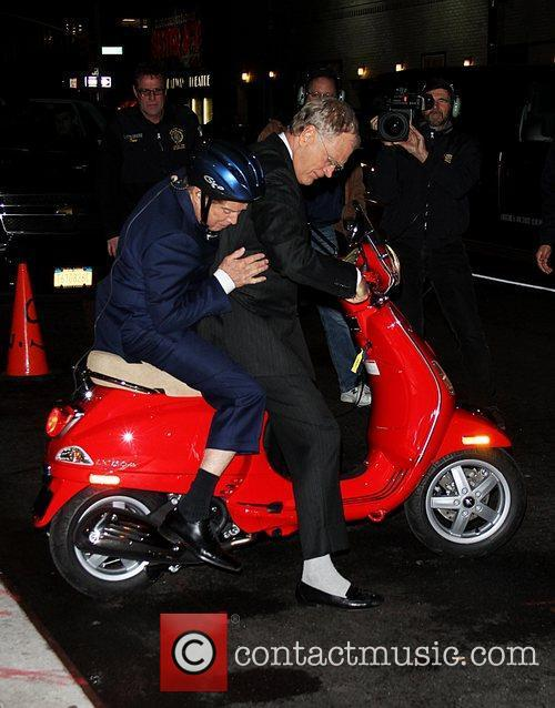 regis philbin is given a vespa scooter 5756899