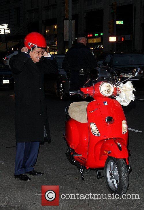 Regis Philbin and David Letterman 9