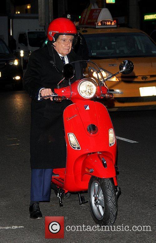 Regis Philbin and David Letterman 11