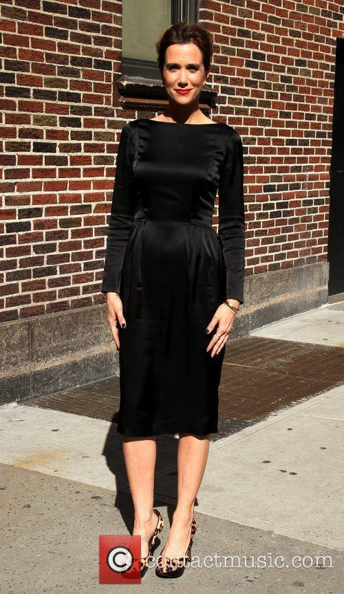 Kristen Wiig 'The Late Show with David Letterman'...