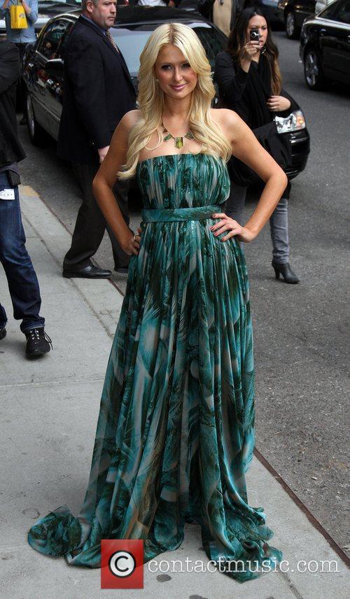 Paris Hilton and Ed Sullivan 3