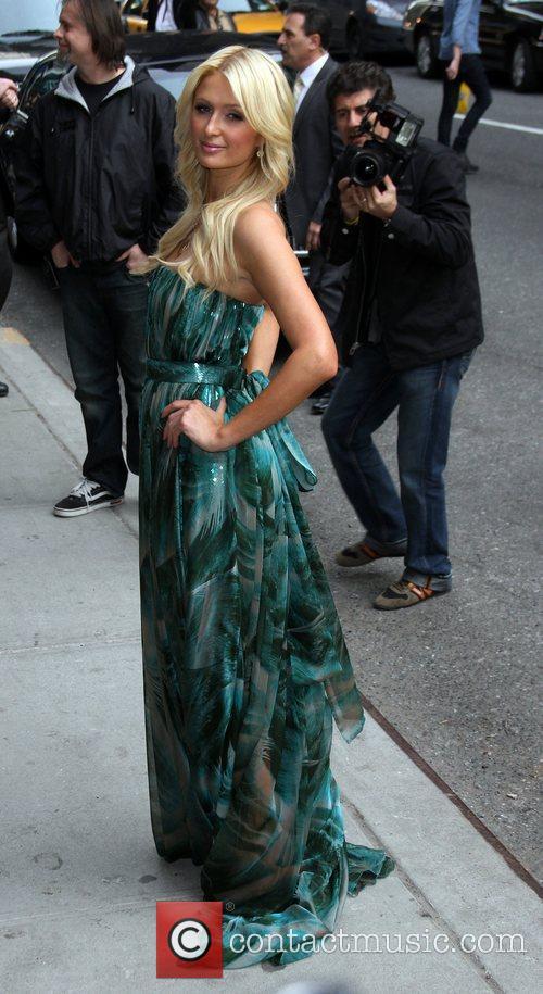 Paris Hilton and Ed Sullivan 6