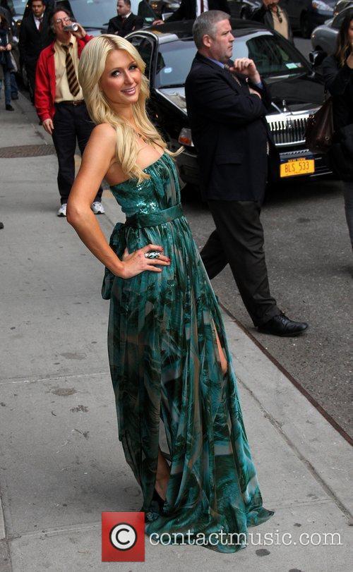 Paris Hilton and Ed Sullivan 4