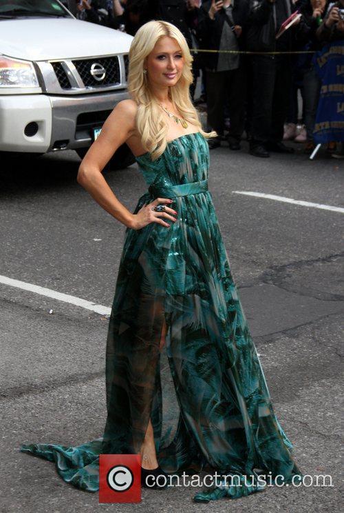 Paris Hilton and Ed Sullivan 5