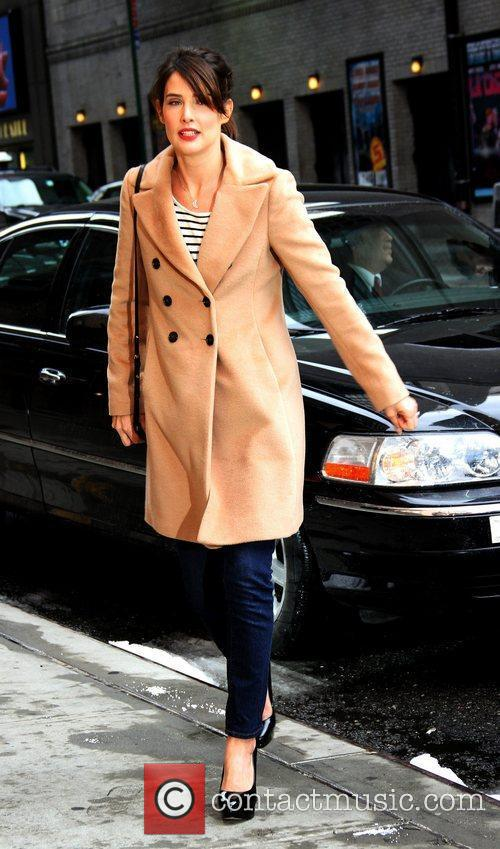 Cobie Smulders and Ed Sullivan 2