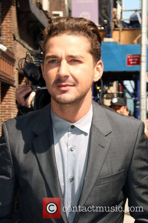Shia LaBeouf 'The Late Show with David Letterman'...