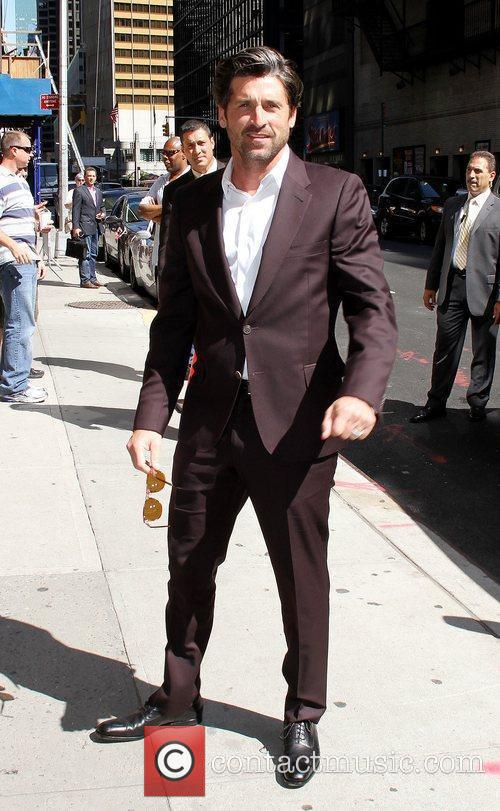 Patrick Dempsey 'The Late Show with David Letterman'...