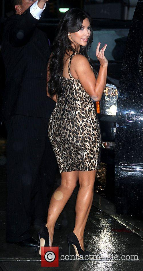 Kim Kardashian, in a change of clothes 'The...