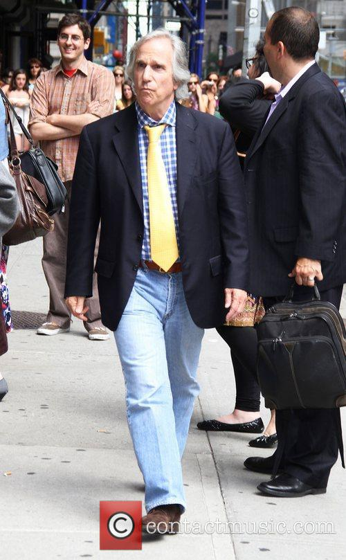Henry Winkler 'The Late Show with David Letterman'...