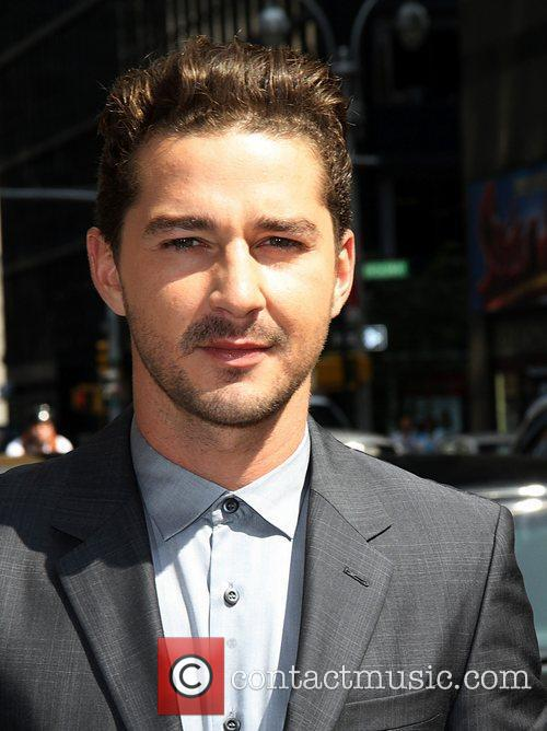Shia LaBeouf - 'The Late Show with David Letterman' at the ...