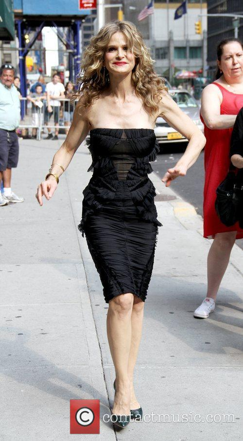 Kyra Sedgwick 'The Late Show with David Letterman'...