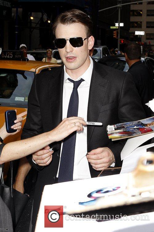 Chris Evans 'The Late Show with David Letterman'...