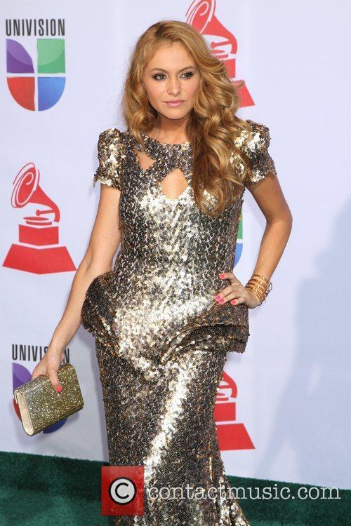 Paulina Rubio and Grammy 1