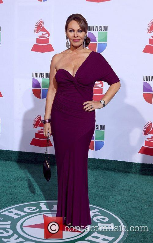 Maria Elena Salinas and Grammy 3