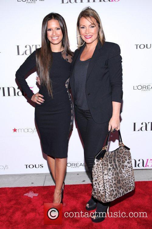 Rocsi Diaz and Angie Martinez  Latina Magazine's...