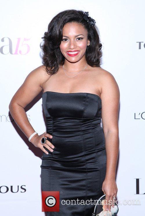 April Lee  Latina Magazine's 15th anniversary celebration...