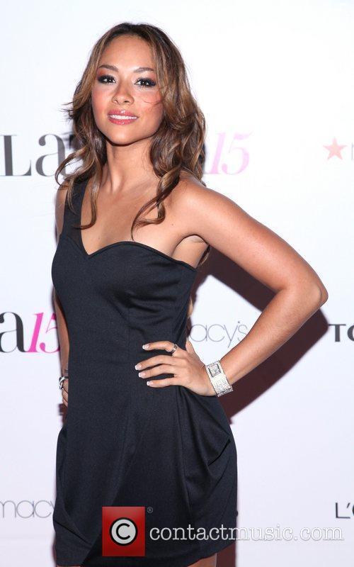 Lea Quezada  Latina Magazine's 15th anniversary celebration...