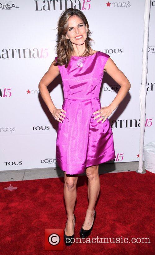 Natalie Morales  Latina Magazine's 15th anniversary celebration...
