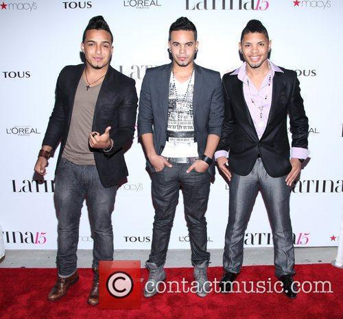 Singers Jiory Garcia, Mickey Then, and Joell Jaquez...