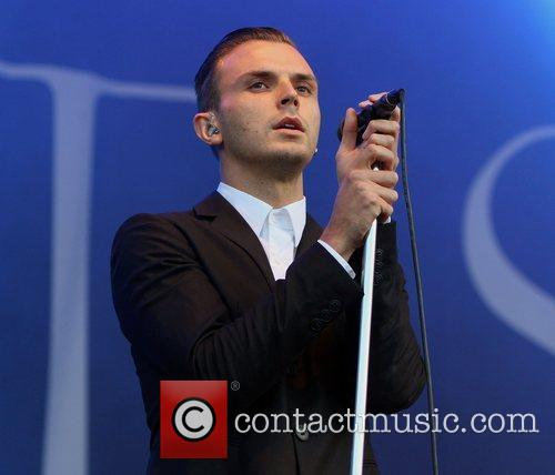 Hurts performing on the Obelisk Arena stage Latitude...
