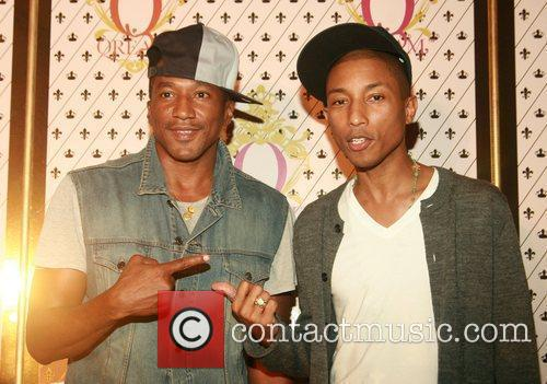 Q-tip and Pharrell Williams 3