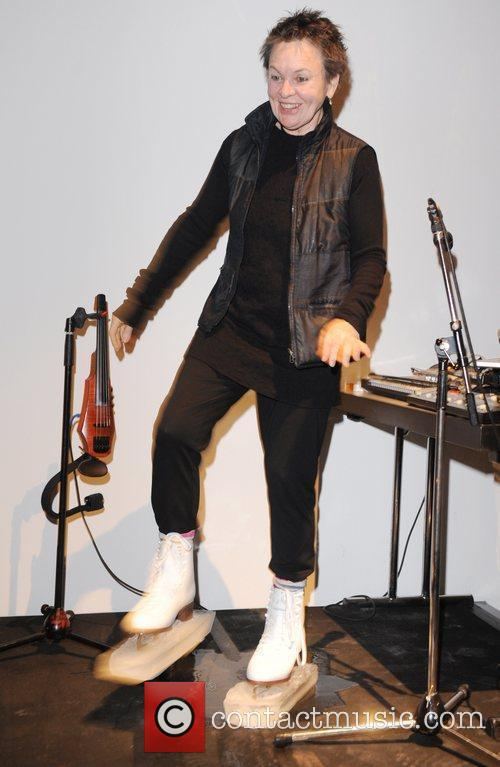 Laurie Anderson  performs 'Duets On Ice' at...