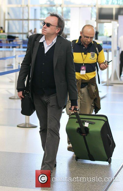 Danny Boyle Celebrities arrive at LAX to catch...
