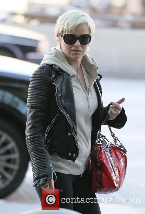 Helen Mirren Celebrities arrive at LAX to catch...