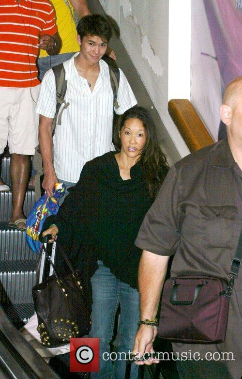 Boo Boo Stewart arrives at LAX airport Los...