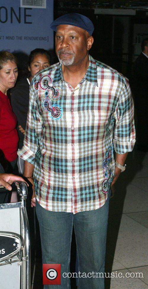 James Pickens Jr. arrives at LAX airport Los...