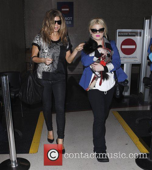 Fergie, real name Stacey Ferguson and Kelly Osbourne...