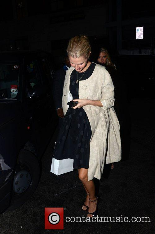 Donna Air  at a private dinner celebrating...