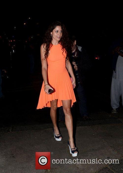 Eliza Doolittle  at a private dinner celebrating...
