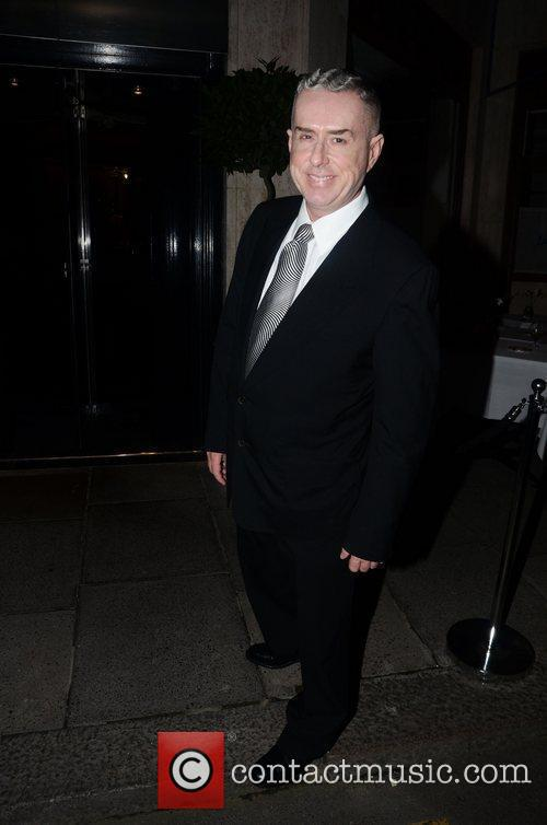 Holly Johnson  at a private dinner celebrating...
