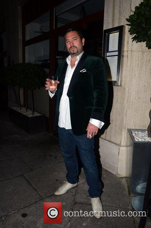 Huey Morgan  at a private dinner celebrating...