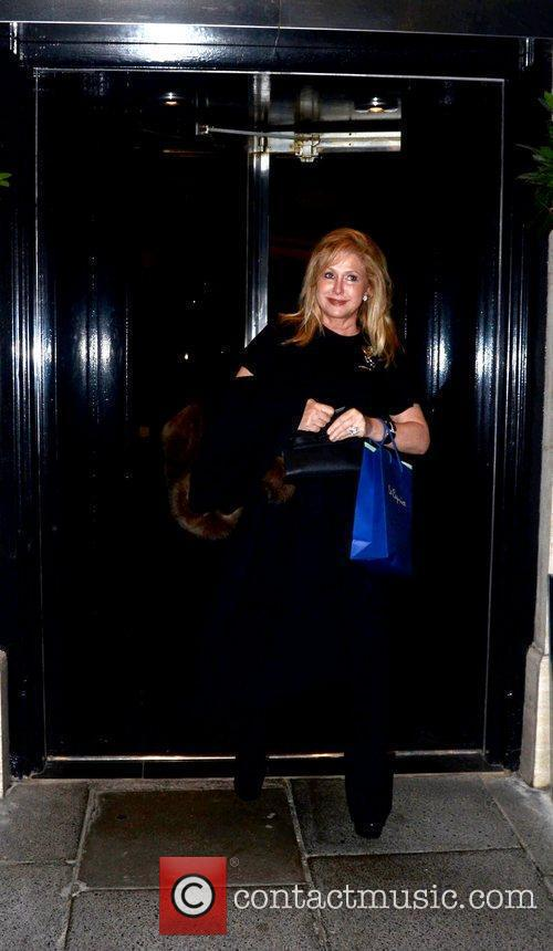 Kathy Hilton  at a private dinner celebrating...