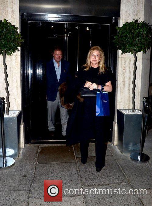 Rick Hilton and Kathy Hilton at a private...