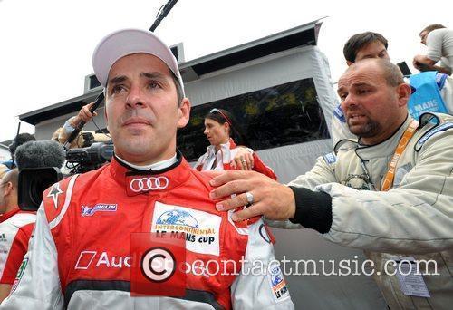 Benoit Treluyer (L) Scenes from the second racing...