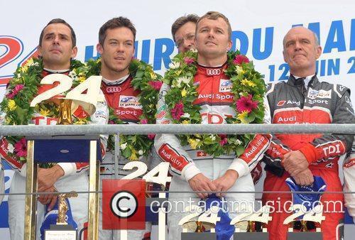 Marcel Fassler, Andre Lotterer, Benoit Treluyer, Wolfgang Ullrich,...