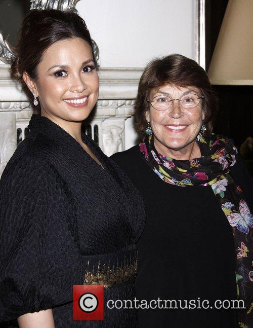 Lea Salonga and Helen Reddy Opening night of...