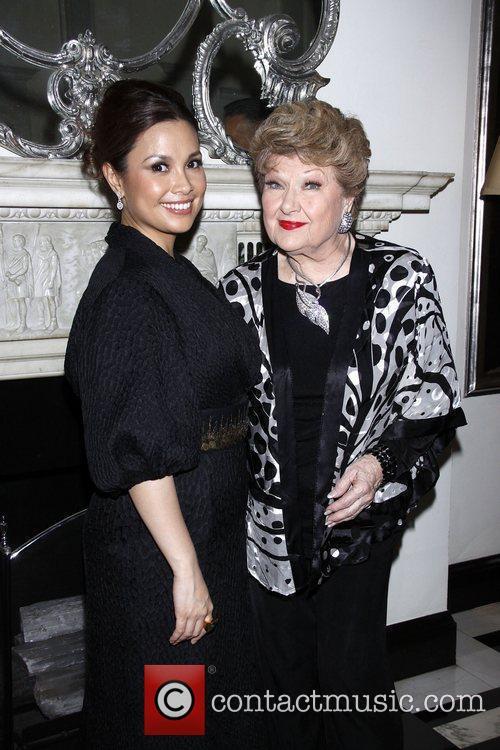 Lea Salonga and Marilyn Maye Opening night of...