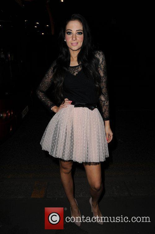 Tula Tulisa Contostavlos of from N-Dubz at the...