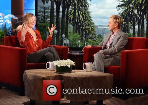 Leann Rimes and Ellen DeGeneres  Singer LEANN...